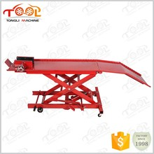 Alibaba Express Special Design Widely Used 800LBS Tl1700-3 Air Motorcycle Lift Table