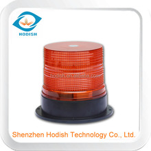 Magnetic Mount LED Rotating And Flashing Warning Light - Amber Lens - Clear LED's