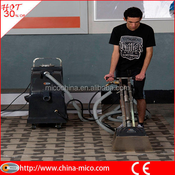 Multi functional hotel commercial used carpet extraction machine