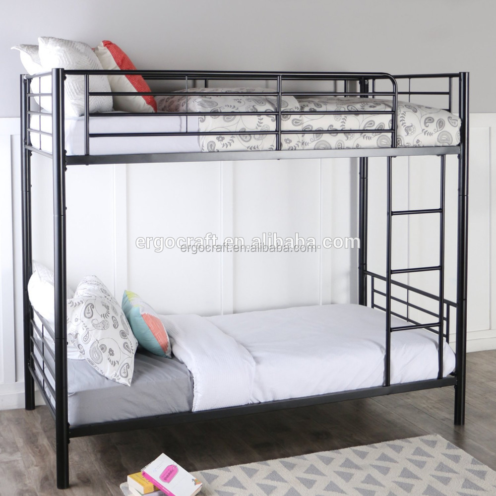 2016 high style children furniture metal twin full iron Bunk Bed