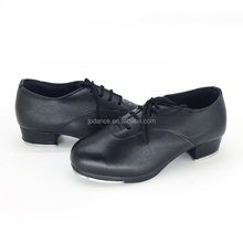 high quality PU tap shoes for boys and girls with low price/tap dance shoe