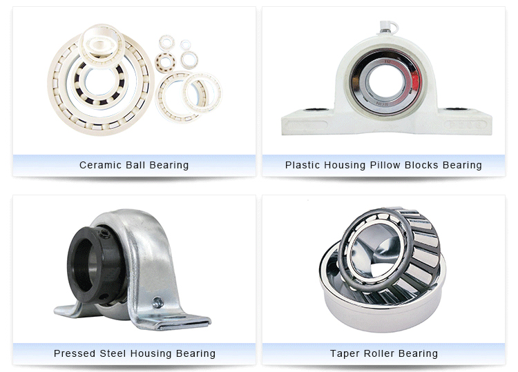 thermoplastic / plastic pillow block bearing housing