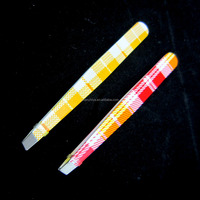 Pointed tip eyebrow tweezers fancy tweezers