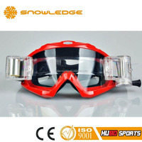 China custom motorcycle helmets wholesale motocross goggles with roll off