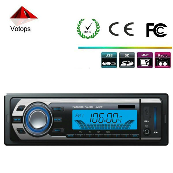 Hot sell single din car stereo mp3 usb sd
