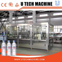 Large Capacity Mineral Water Bottling Plant 3 In 1 Unit