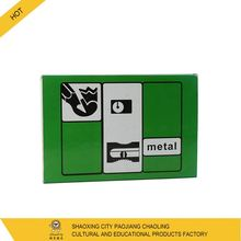 New arrival customized logo stock promotional office metal pencil sharpener