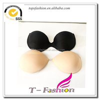 2016 beautiful design uplifting latest halloween costumes breast decoration use clothings cotton adhesive strapless sexy bras