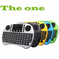 New hot Backlit Keyboard Rii i8+ 2.4G English Version Mini Keyboard and Mouse Combo for Mini PC, Smart TV Box
