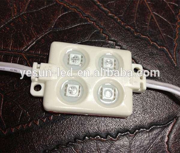 YESUN 4 chips 5050 led smd module with CE and ROHS certification