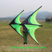 Large high quality delta flying kite for sale with 10m tail