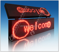 Electronic LED Moving Message Boards Programmable Scrolling LED Signs