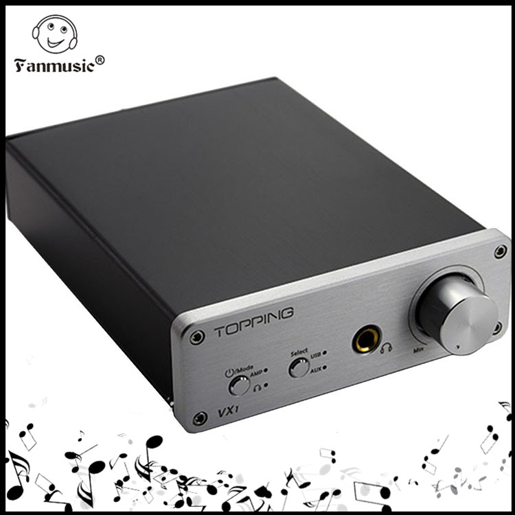 TOPPING VX1 2*25W T-AMP Tripath Car Hi-Fi Power Subwoofer Amplifier USB DAC USB Digital Amplifier