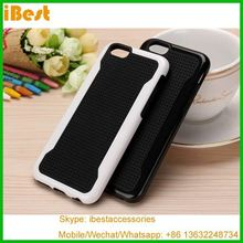iBest fashion style dual color shockproof in stock new tpu case for iphone 6,fashion phone accessory