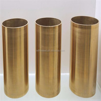 thin wall brass tube ,fluid brass tube and straight cooper pipe