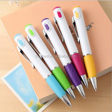 2 in 1 led pen , led light pen writing in the dark