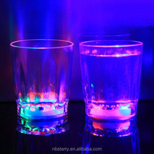 light-up liquid activated glass / led light drinking glass/ colorful light glass