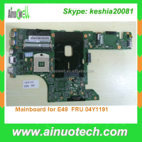FRU 04Y1191 Laptop Mainboard for Lenovo E49 Motherboard FRU 04W2024 System board