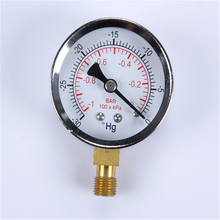 Hot Selling New Design Clear stainless steel Vacuum pressure gauge