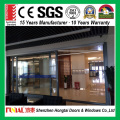 china suppliers hot sale aluminum alloy tempered glass interior sliding door