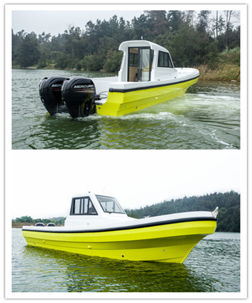 All new 30' Speed Fiberglass Cabin Boat for Sale