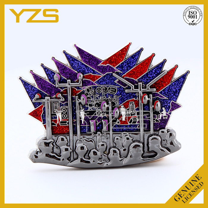 wholesale custom hard enamel metal lapel pins badge maker