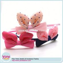 rabbit ear beautiful headbands, cat ear headband for girls, rabbit ear headband