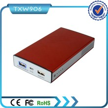 Good Quality Quick Charge 2.0 2 Smart Ports 12000mah Power Bank