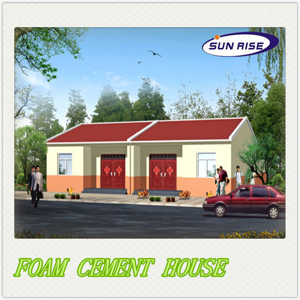 Manufacturer new design flat roof house plans prefab house