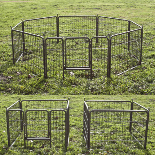all sizes strong structure outdoor dog fence metal dog cage