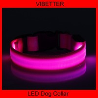 VIBETTER-LDC-3 Two-sided Stripe LED dog/pet collars