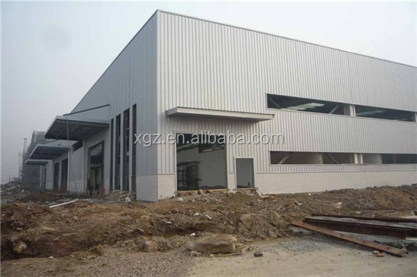 steel structural framework bolted connection prefabricate steel building