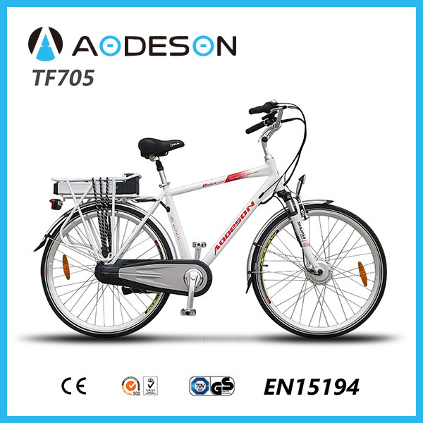 Best sale lithium battery electric bikeTM705 with 250w bafang hub motor