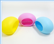 Colorized plastic egg shape small hamster house