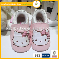 new arrival Wholesale leather baby shoes, italian leather moccasin babay shoes