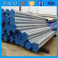 Tianjin gi pipes ! 42mm pre galvanized steel pipe galvanized pipe corral fence panels