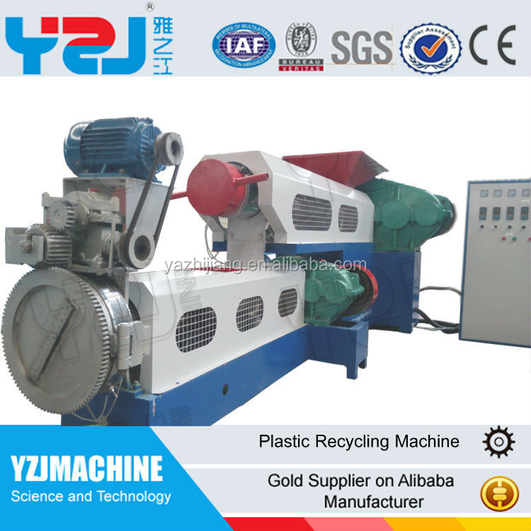 plastic recycling machine for PE film and PP woven bags,PS,ABS and machines for the production of polypropylene