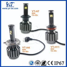OEM HID and LED factory bulbs single beam metal Headlight Lamp for all cars xenon HID headlight UV-cut H7 12V/40W 6000K