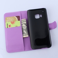 Fashionable antique flip leather case cover for htc one m9