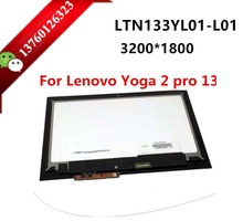 "Laptop led screen for Lenovo Yoga2 Pro 13 13.3"" lcd assembly screen with touch panel digitizer LTN133YL01-L01 LTN133YL01"