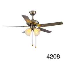 2015 Best Selling Home Use Top Grade Electric Ceiling Fan with Iron or Aluminum Blades