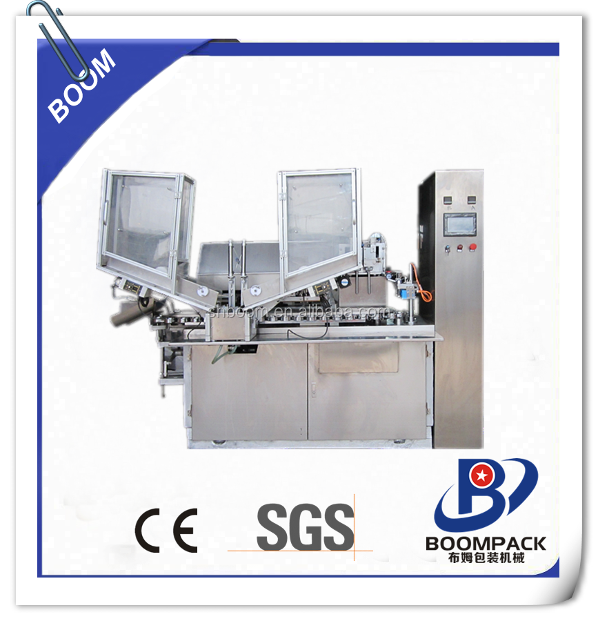 TOP CHOICE automatic adhesive glue aluminum tube filling and sealing machine with folding