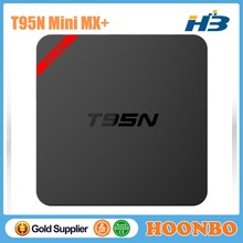 New Design T95N MINI MX+ Amlogic S905 Android 5.1 TV BOX 1G+8G Quad Core 4K H.265 Wholesale