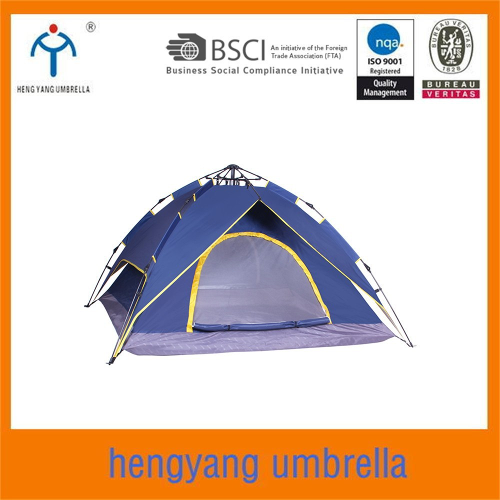 2*2*1.35m New style auto open camping luxury tent custom camping tent for 3-4 person