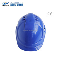 CE directional air vents blue/white/red many colors cheap safety helmet suspension chin strap