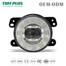 New launched IP68 6000K 4inch round 17w DRL led fog light