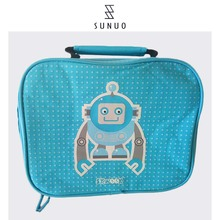 Blue Mini Insualted Traveling Cooler Bag For Medication