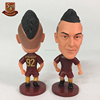 Football player roma #92 El shaarawy movable joints resin model kit action figures