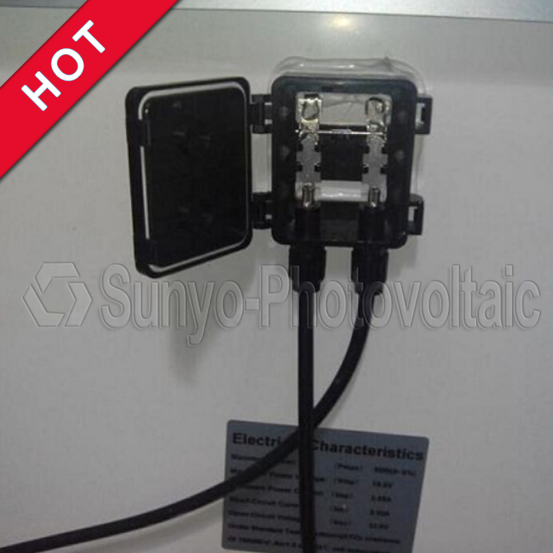Solar Panel Junction Box with bypass diodes Diotec