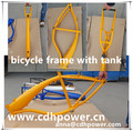 gasoline moped bicycle frame/Bicycle V frame with 2.4L tank/ gas tank frame